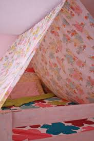 Bunk Bed With Tent At The Bottom Canopy Idea For Top Of Bunk Bed Curtains Below For