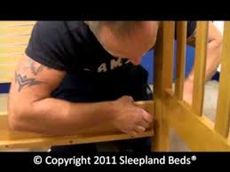 cosmos maple bunk bed assembly part 1 youtube