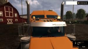 volvo vnl 780 blue truck farming simulator 2017 2015 15 17 freightliner argosy daycab truck v1 0 farming simulator 2019