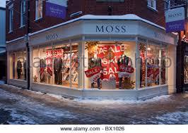 christmas shopping in canterbury shopping christmas stock photo