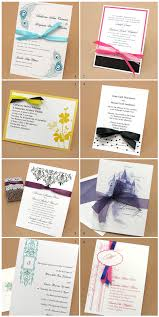 wedding invitations with ribbon adding a diy touch to your wedding invitations