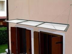 tettoie per porte esterne pensiline per porte