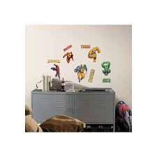 roommates marvel heroes peel and stick wall decals at guiry u0027s