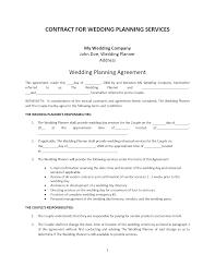 birthday party planner template wedding planner contract template wedding eo contract cover letter cover letter wedding planner contract template wedding eo contractparty planning contract