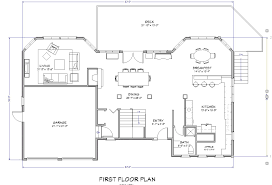 Blueprints For House House Plands Big House Floor Plan Large Images For House Plan Su