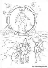 thor coloring pages coloring book