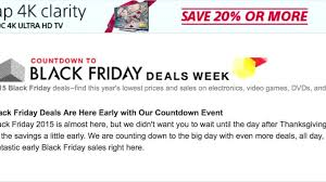 best tv deals coming up for black friday amazon will start offering black friday deals a week early u2013 las