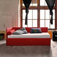 sofa bed with storage box pq l single sofa bed upholstered in fabric or leather available w