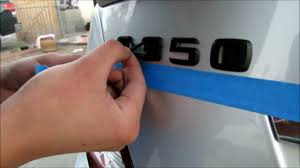 plastic dip mercedes c350 emblems