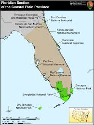 Southern Florida Map by Nps Explore Nature Geologic Resources Education Concepts
