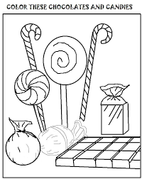 candy coloring pages bestofcoloring com