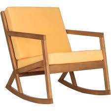 Mainstays Rocking Chair Safavieh Vernon Rocking Chair Multiple Colors Walmart Com