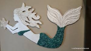 mermaid decorations for home wooden mermaid wall art himalayantrexplorers com