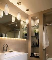 Lights For Bathrooms Bathroom Design Bathroom Storage Nishe Glass Shelves Pendant