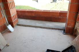 estrich balkon diary hausbau gefälle estrich auf terrasse und balkon