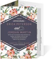 tri fold wedding invitations tri fold cards tri fold invitations purpletrail