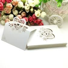 Table Name Cards by Online Buy Wholesale White Place Cards From China White Place