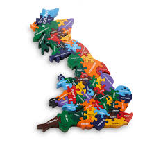 Europe Map Puzzle by Map Of Britain Wood Like To Playwood Like To Play