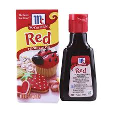 red food coloring ingredients 224 coloring page