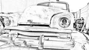 turn a photograph into a drawing photoshop cs5 tutorial youtube