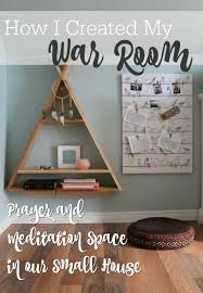creating my u201cwar room u201d freezing rain meditation space and violets