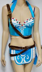 breath of the wild legend of zelda link bra costume cosplay dance
