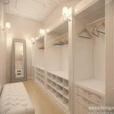 interiors enchanting narrow walk in closet organization ideas my