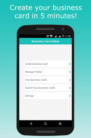 create a card business card maker android apps on play