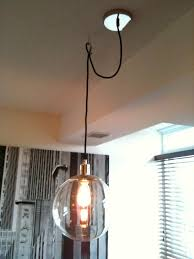 how to hang a pendant light with a cord creed how to swag a pendant