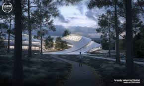 contemporary architecture contemporary architecture cultural center u2013 mohammad qtaishat with