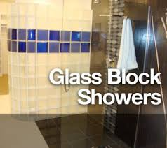 glass block bathroom ideas 4 premier series glass blocks curved decorative angled