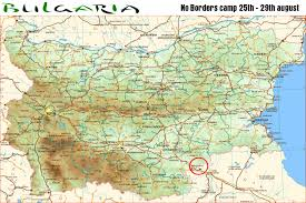 Map Of Greece And Turkey by Bulgaria Camp For The Summer Of 2011 Announced Noborder Bulgaria
