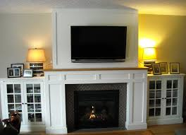 Media Room Built In Cabinets - craftsman fireplace with built in media cabinets fine homebuilding