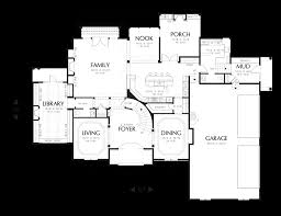 Home Floor Plans Mn Mascord House Plan 2432a The Benedict