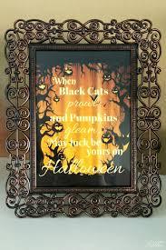 halloween mantel decor orange black and purple life with lorelai