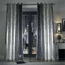 Vintage Eyelet Curtains Curtains Silver Grey Grace Silver Ready Made Eyelet Curtains