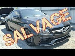 i bid i bid on autovlog s mercedes c63s amg at the copart salvage