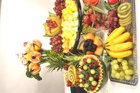 fruit displays flamboyant fruit display panini catering