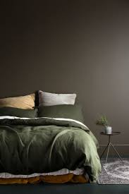 gray and green bedroom home decorating inspiration