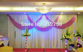 wedding backdrop size express free shipping wedding stage decoration wedding backdrop