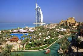 skyscrapers burj al arab hotel dubai united emirates cool desktop