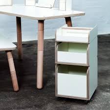 Schreibtisch Rollcontainer Rollcontainer Weiß Zum Kinderschreibtisch Design Dorfhaus