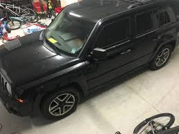 red jeep patriot red emblems painted rims and tinted lights jeep patriot forums
