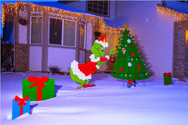 grinch outdoor decoration all home ideas and decor dr seuss