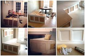 Kitchen Storage Bench Plans by Amazingcorner Kitchen Nooks With Storage Nook Bench Plans
