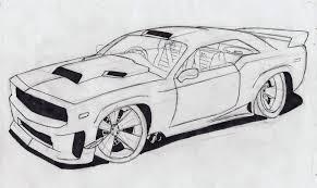 lamborghini logo sketch drawing