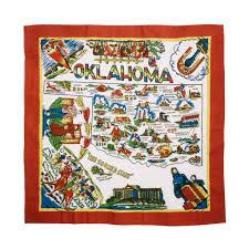 Oklahoma State Map Oklahoma Map Kitchen Towel U2013 The Pioneer Woman Mercantile