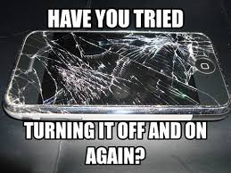 a restart isn t going to help that poor phone looks like they need