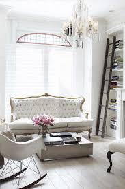chic paris themed living room ideas with minimalist beige sofa