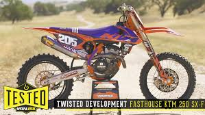 ktm motocross helmets tested twisted development fasthouse ktm 250 sx f motocross